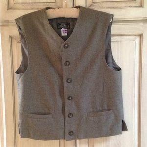 Luca Grimaldi Men's vest brown